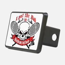 I put the bad in Badminton Hitch Cover