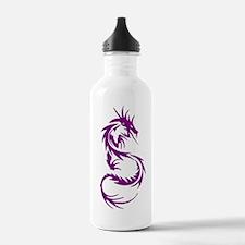 Purple Dragon Tattoo Sports Water Bottle