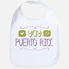 Yay for Puerto Rico Bib