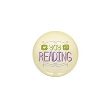 Yay for Reading Mini Button (100 pack)