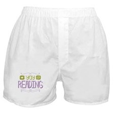 Yay for Reading Boxer Shorts