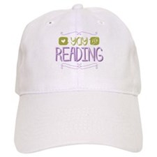 Yay for Reading Baseball Baseball Cap