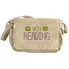 Yay for Reading Messenger Bag