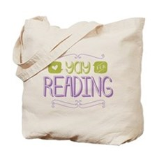 Yay for Reading Tote Bag