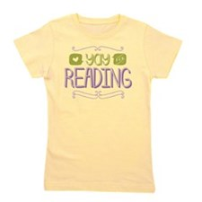 Yay for Reading Girl's Tee