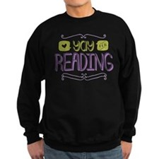 Yay for Reading Sweatshirt