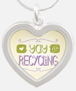 Yay for Recycling Necklaces