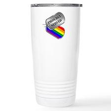 Proudly Served Travel Mug