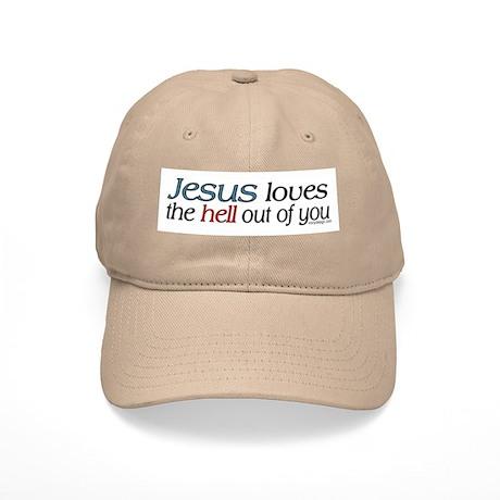 Jesus loves the hell... Cap
