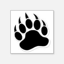 Awesome Gay Bear claw B&W 3D effect Sticker