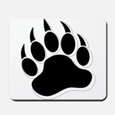 Awesome Gay Bear claw B&W 3D effect Mousepad