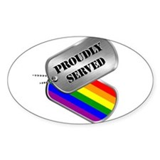 Proudly Served Decal