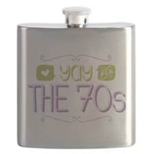 Yay for The 70s Flask