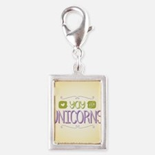 Yay for Unicorns Charms