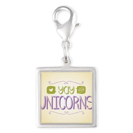 Yay for Unicorns Charms