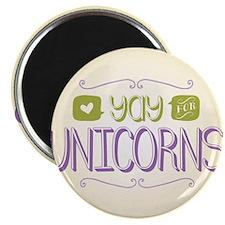 Yay for Unicorns Magnet