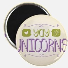 Yay for Unicorns Magnet