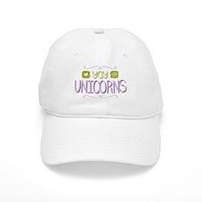 Yay for Unicorns Baseball Baseball Cap