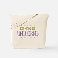 Yay for Unicorns Tote Bag