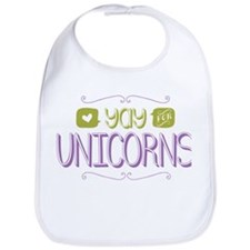 Yay for Unicorns Bib