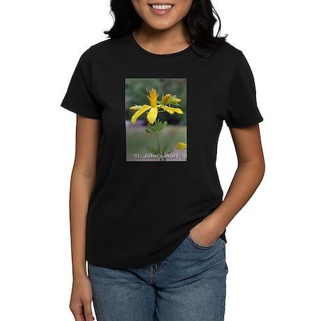 St. John's Wort Flower Women's Dark T-Shirt