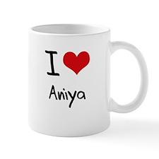 I Love Aniya Mug