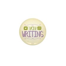 Yay for Writing Mini Button (100 pack)