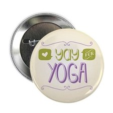 """Yay for Yoga 2.25"""" Button (100 pack)"""
