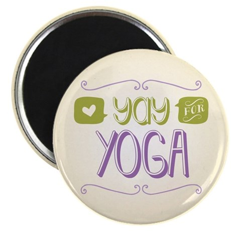 Yay for Yoga Magnet