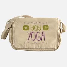Yay for Yoga Messenger Bag