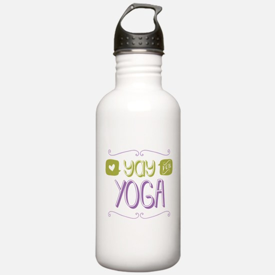 Yay for Yoga Water Bottle