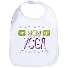 Yay for Yoga Bib