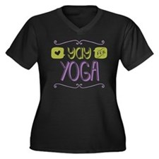 Yay for Yoga Plus Size T-Shirt