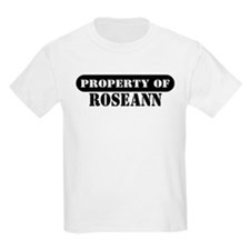 Property of Roseann Kids T-Shirt