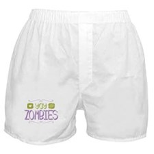 Yay for Zombies Boxer Shorts