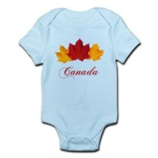 Canadian Maple Leaves Body Suit