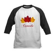 Canadian Maple Leaves Baseball Jersey