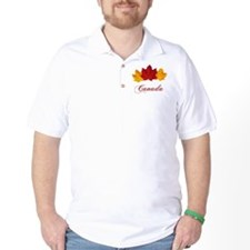 Canadian Maple Leaves T-Shirt