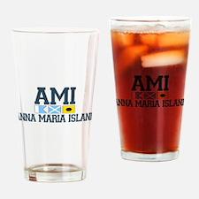 Anna Maria Island - Varsity Dersign. Drinking Glas