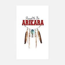 Proud to be Arikara Decal