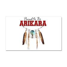 Proud to be Arikara Car Magnet 20 x 12