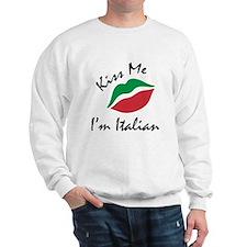 Kiss Me I'm Italian Jumper