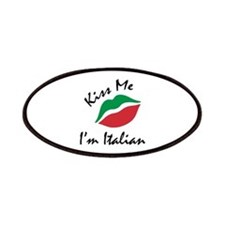 Kiss Me I'm Italian Patches