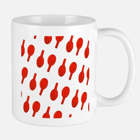 Red I Flip Over Tennis Menagerie Mug