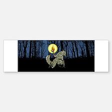 Werewolf Bumper Bumper Bumper Sticker