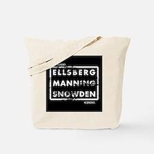 Ellsberg Manning Snowden Tote Bag