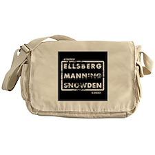 Ellsberg Manning Snowden Messenger Bag