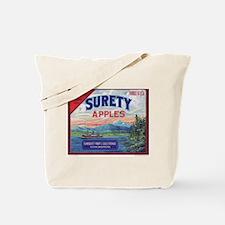 Surety Apples - larger Tote Bag