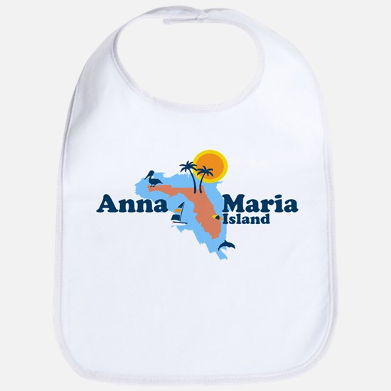 Anna Maria Island - Map Design. Bib