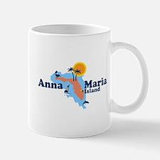 Anna Maria Island - Map Design. Mug
